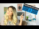 6 Mispronounced Words Pronunciation Eng