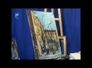 Уроки рисования № 159. Рисуем картину Московский дворик