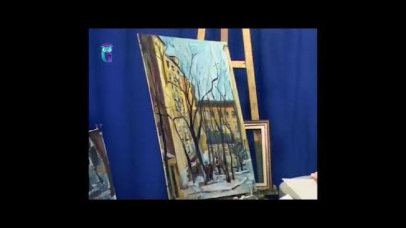Уроки рисования (№ 159). Рисуем картину Московский дворик