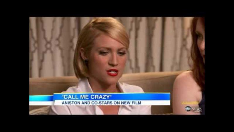 Jennifer Aniston on Good Morning America (18.04.2013)
