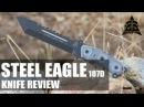 TOPS Steel Eagle Tanto 107D Tactical Knife Review OsoGrandeKnives