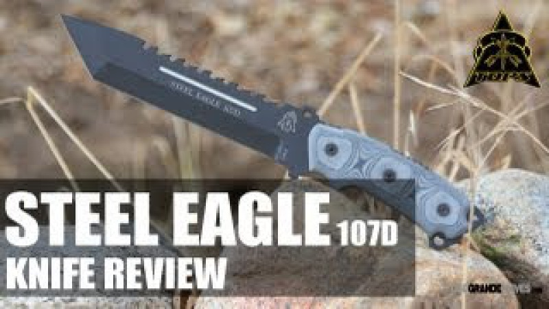 TOPS Steel Eagle Tanto 107D Tactical Knife Review | OsoGrandeKnives