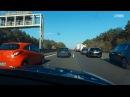 Autobahn-Polizei kontrolliert Rettungsgasse und ermahnt Autofahrer   POV GoPro Einsatzfahrt
