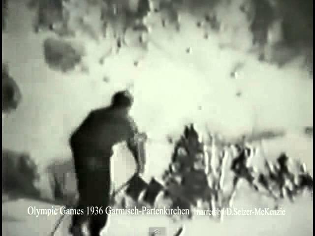 Olympic Games 1936 Garmisch Partenkirchen 60 minutes Film SelMcKenzie Selzer McKenzie
