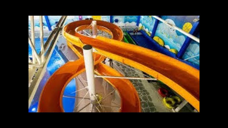 Аквапарк в Виймси Atlantis H2O c Владимиром Волошиным лучшие советы перед посещением