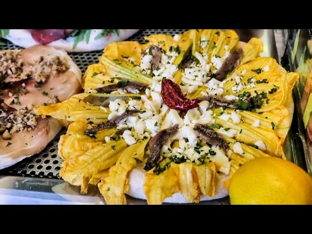 Italian Food and Street Food at Mercato Metropolitano, Turin, Italy