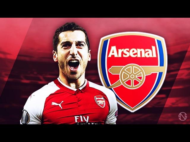 HENRIKH MKHITARYAN - Welcome to Arsenal - Genius Skills, Passes, Goals Assists - 2017/2018 (HD)