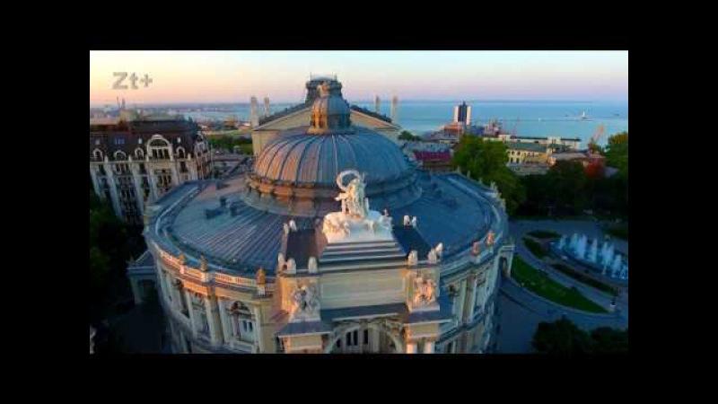 Города Украины с высоты - Одесса. 4К (Cities of Ukraine from a height - Odessa)