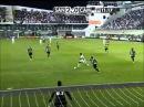 Gol (golaço) Fantastico de Neymar contra Atletico MG, 17/10/2012 dribla 3 e marca!