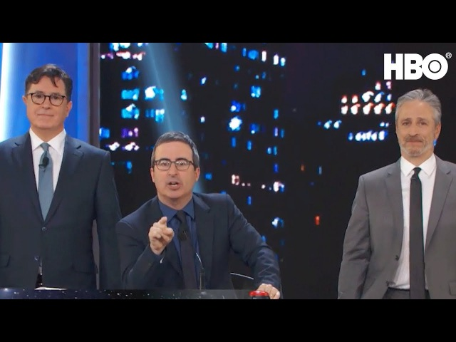 Stephen Colbert John Oliver Take Over The Stage | Night Of Too Many Stars | HBO