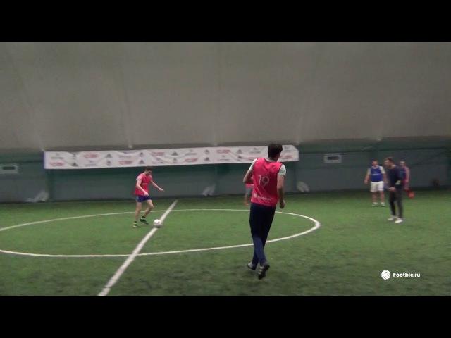 FOOTBIC.RU. Видеообзор 10.11.2017 (Метро Марьина Роща). Любительский футбол