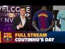 FULL STREAM | Coutinho's unveiling as a Barça player