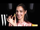 Gal Gadot Explores ASMR with Whispers Knives and Snacks Celebrity ASMR W Magazine