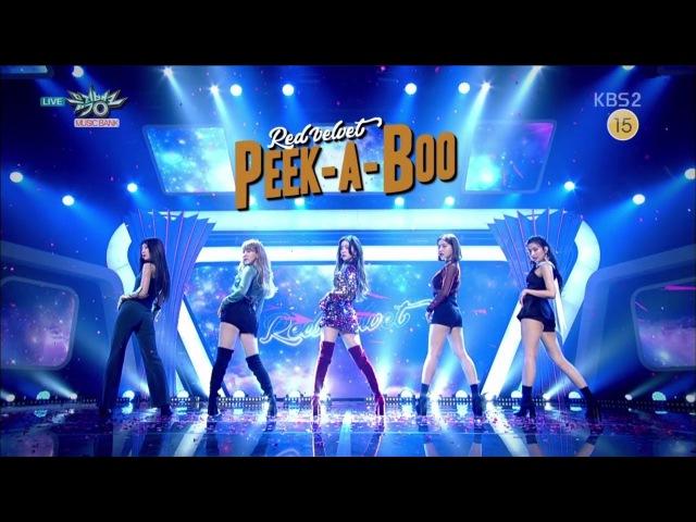 Red Velvet 레드벨벳 Comeback Stage '피카부 (Peek-A-Boo)' KBS MUSIC BANK 2017.11.17