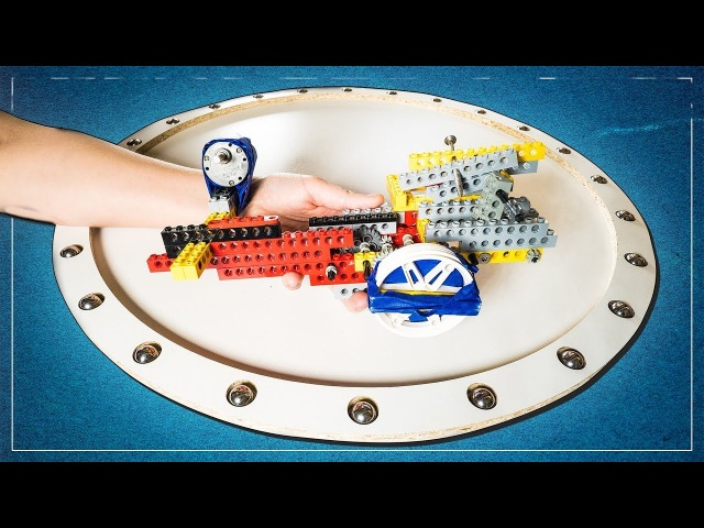 Making a Lego Powered Lazy Susan Photography Turntable