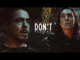 Tony + Loki Don't Pretend