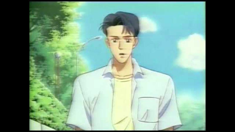 Я люблю тебя. Момент из аниме Поцелуй в глазик ОВА. Kiss wa Hitomi ni Shite OVA