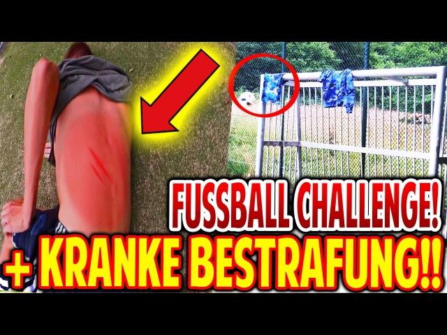 FUßBALL CHALLENGES mit EXTREM HEFTIGE BESTRAFUNG! - FIFAGAMING FOOTBALL CHALLENGES (DEUTSCH)