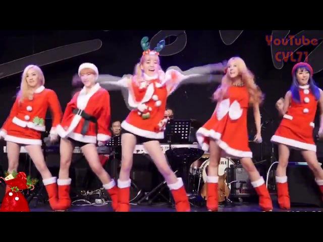 Валенки Валенки Классно поют и ритмично танцуют Кореянки из k-pop группы Tren-D