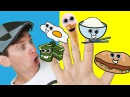 Food Family Part 2-Finger Family Songs with Matt Nursery Rhymes Learn English Kids