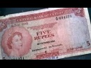 Old ontes sri lankan Old notes with Queen