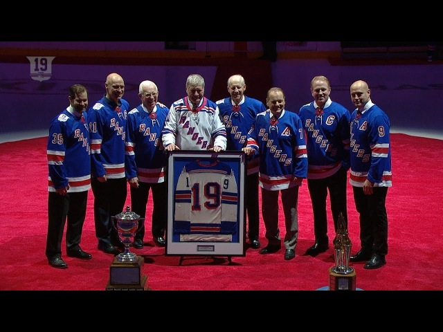Rangers send Jean Ratelle's No. 19 to the rafters