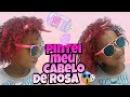 PINTEI MEU CABELO DE ROSA - Samilly Meira