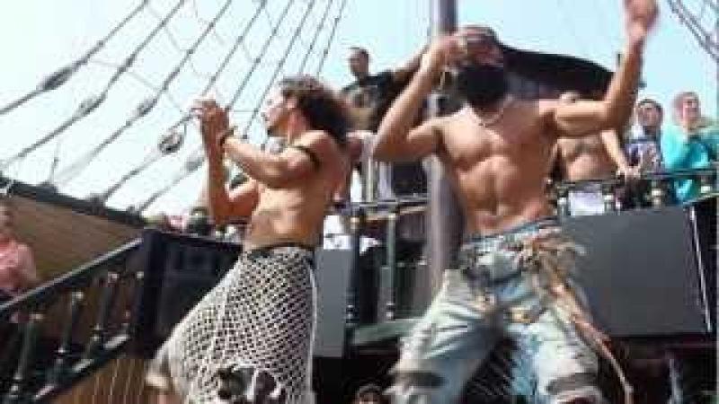 Tunisia Hammamet, Pirate Ship 2012. Edited to Magic System - Zouglou Dance