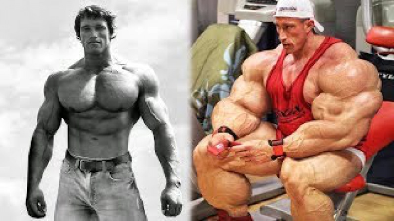 Mr. Olympia Evolution - 1965 to 2017