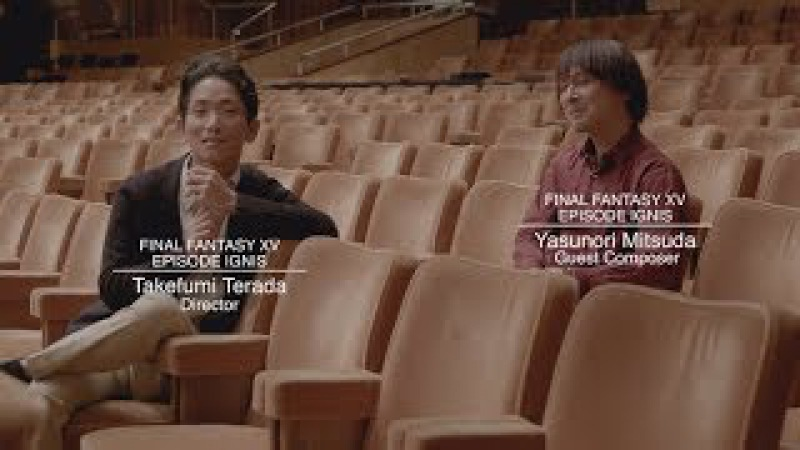 Final Fantasy XV: Episode Ignis - Yasunori Mitsuda Extended Interview [w/subs]