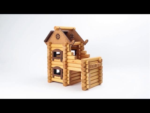 Деревянный конструктор – Терем от Томик