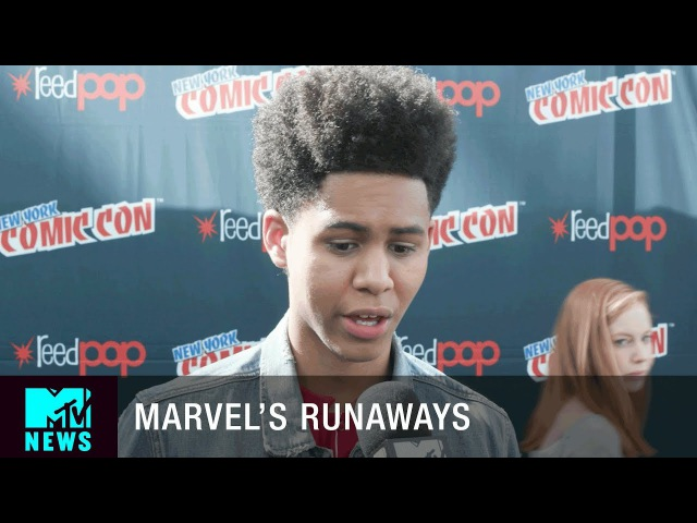 'Marvel's Runaways' Is For the Teens | New York City Comic Con | MTV News