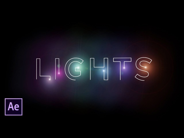 After Effects Tutorial Light Stroke No Plugins