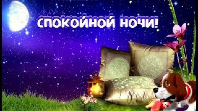 Самое красивое пожелание спокойной ночи! Сладких снов!