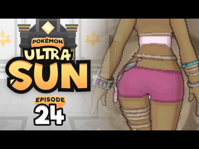 ISLAND KAHUNA OLIVIA | Pokemon Ultra Sun Ultra Moon Let's Play - 24 w/ TheHeatedMo