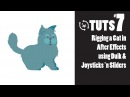 TnT Tuts 7 Rigging a Cat in After Effects using Duik and Joysticks 'n Sliders
