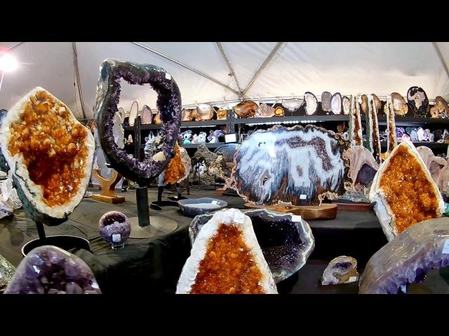 Spectacular Crystals Dinosaurs! Tucson Gem, Mineral Gem Show 2018 (Part 3)