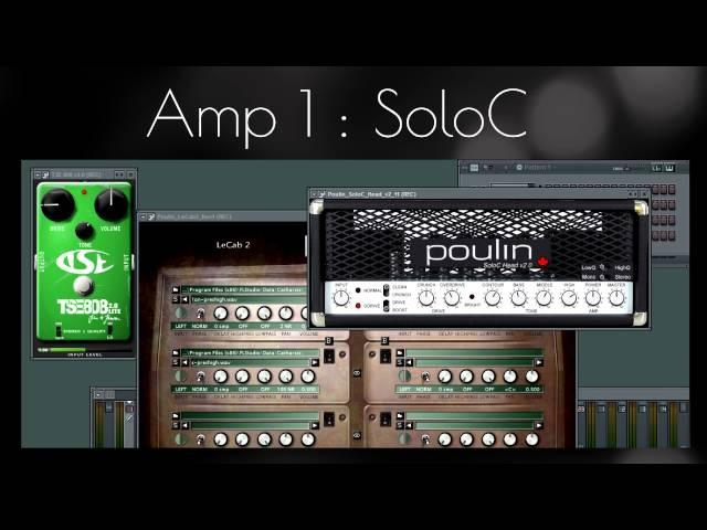 Comparing LePou Amp Simulators [Metal]