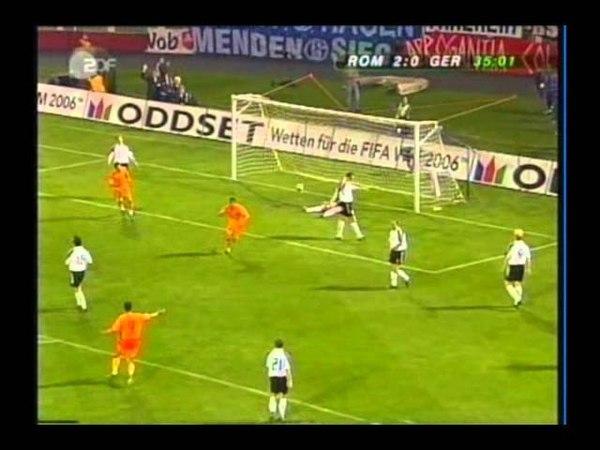 2004 (April 28) Romania 5-Germany 1 (Friendly) (German Commentary).avi