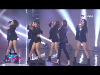 CLC - Black Dress  @ Simply K-Pop 180518