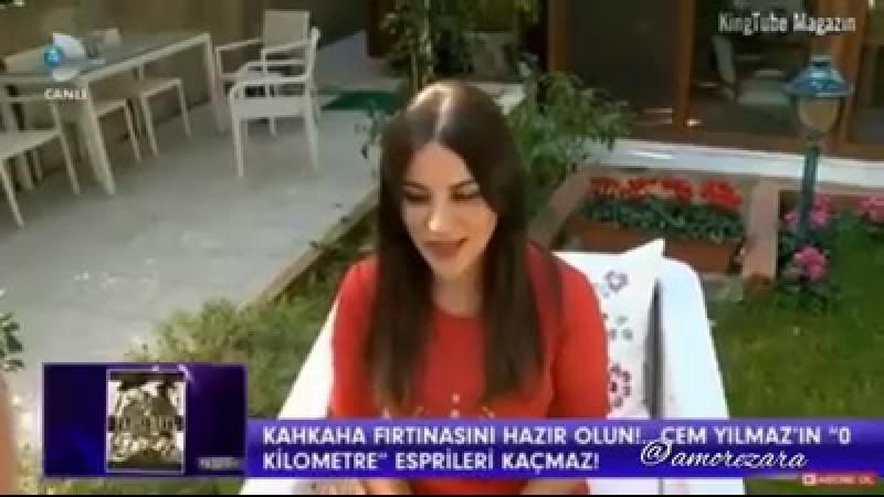 Zara about Mevlana at Kanal D 22 Oct 2017