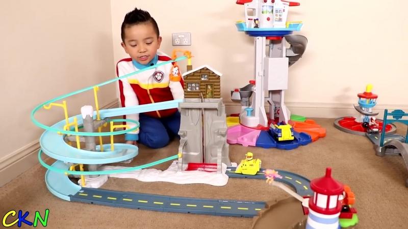 BIGGEST PAW PATROL CITY ! Ckn Toys
