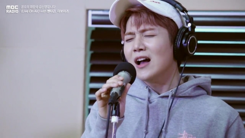 180503 Jinho, Edawn, Wooseok - Organic Song @ Jung Oh's Hope Song Radio