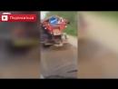Приколы на дороге, наши водители самые уникальные во всем мире online-video-cutter