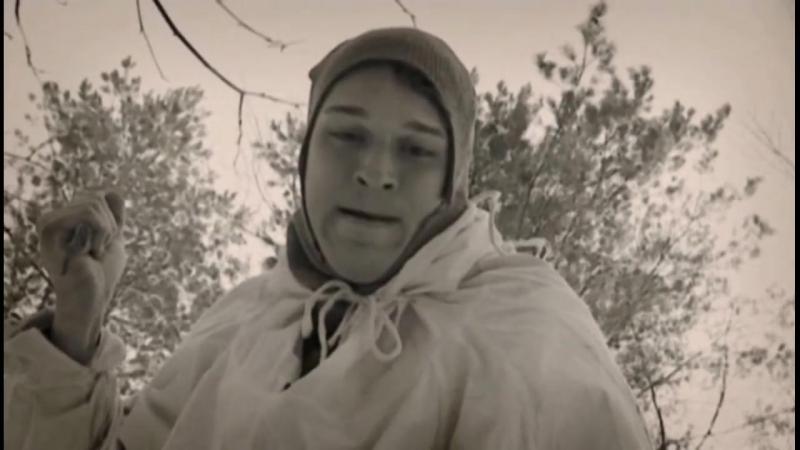 Десантный батя(2008) Рукопашная схватка между советскими и шведскими лыжниками