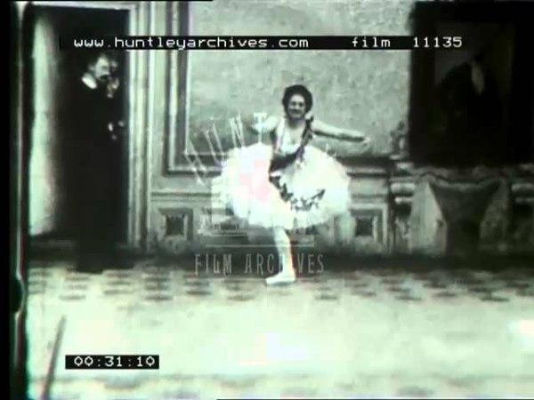 Ballet Dancer, 1890s -- Film 11135