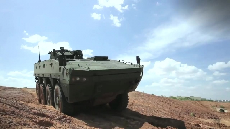 Lockheed Martin Havoc AMV 8x8 Marine персонала Тестирование Carrier 1080p
