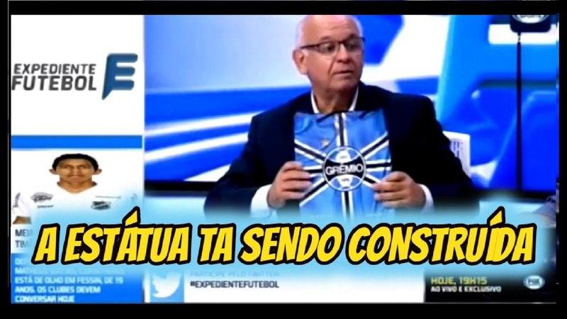 Presidente do Grêmio participa do Debate e fala do fico de Renato e a estátua no aniversário do clu