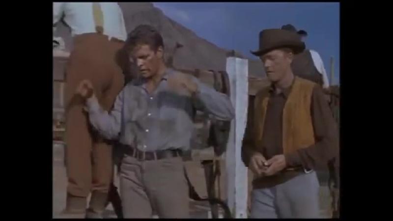 Вестерны Молодые стрелки Техаса 1962 фильм про индейцев Вестерн