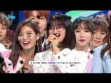 180428 Twice занимают первое место на Music Core и получают свою девятую награду с What is Love.
